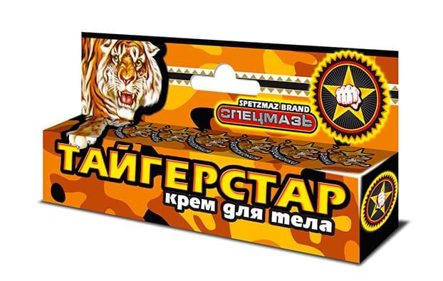 Спецмазь тигровая ТАЙГЕРСТАР® SPETZMAZ BRAND® крем-бальзам для тела